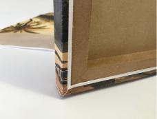canvas printing, canvas box mount