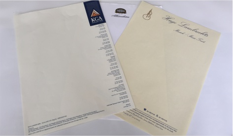 litho print, letterheads, print 4u, bellville, corporate stationery, business stationery